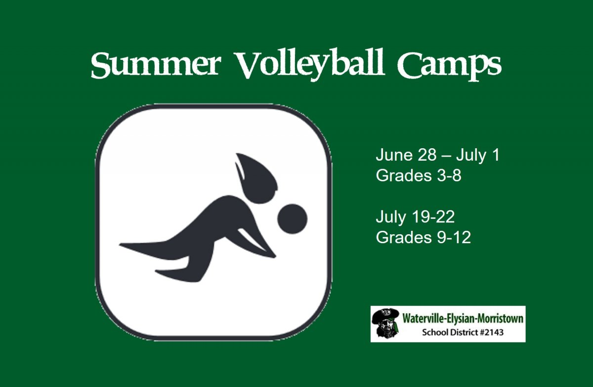 Summer Volleyball Camps June and July